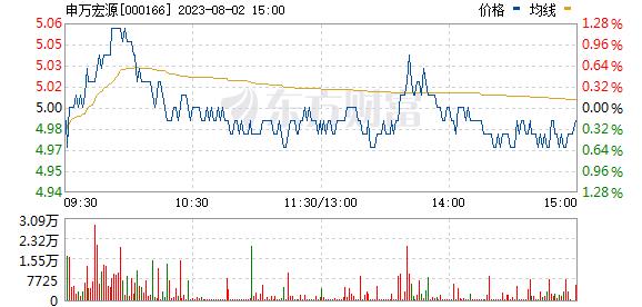 申万宏源(000166)