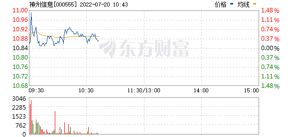 神州信息(000555)