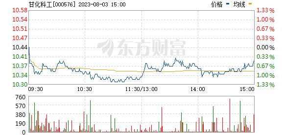 广东甘化(000576)
