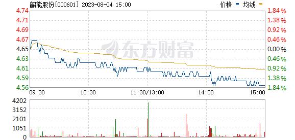 韶能股份(000601)