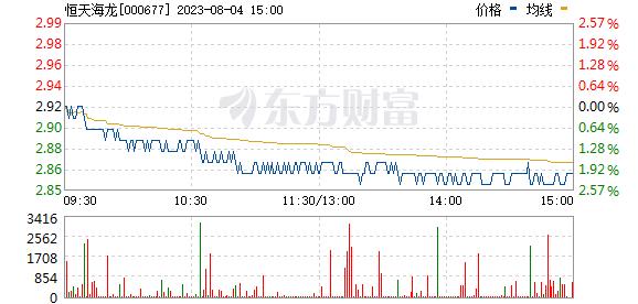 恒天海龙(000677)