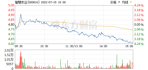 *ST慧业(000816)