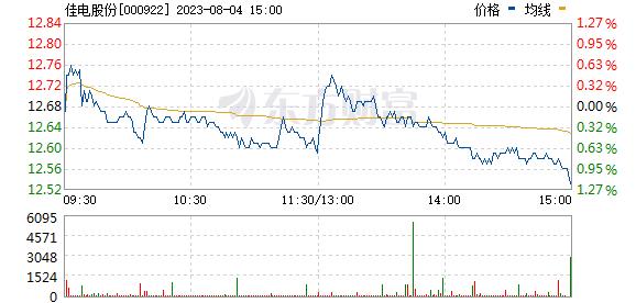 佳电股份(000922)