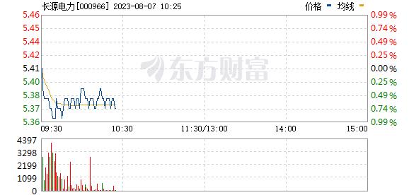 长源电力(000966)