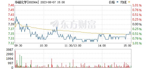 华峰氨纶(002064)
