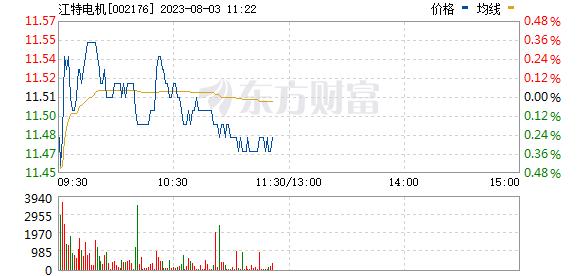 江特电机(002176)