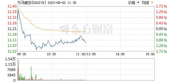 万马股份(002276)