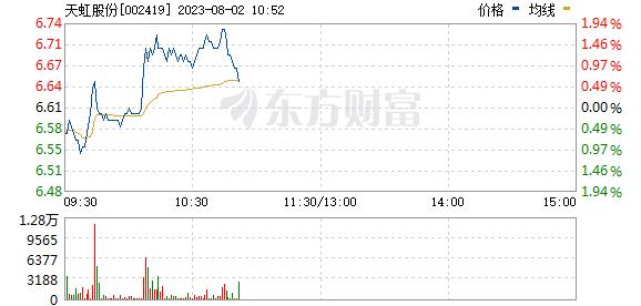 天虹股份(002419)