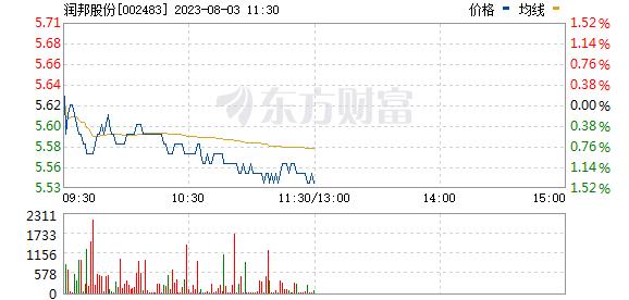 润邦股份(002483)