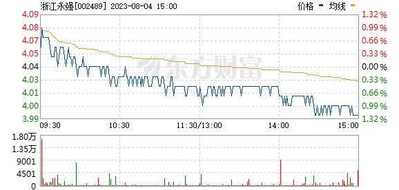 浙江永强(002489)