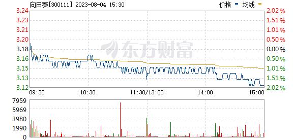 向日葵(300111)