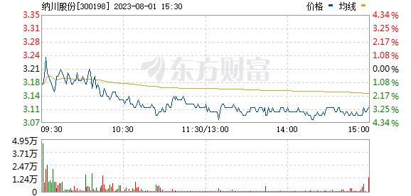 纳川股份(300198)