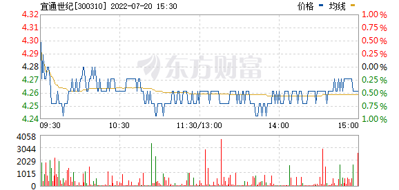 宜通世纪(300310)