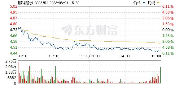 鹏翎股份(300375)
