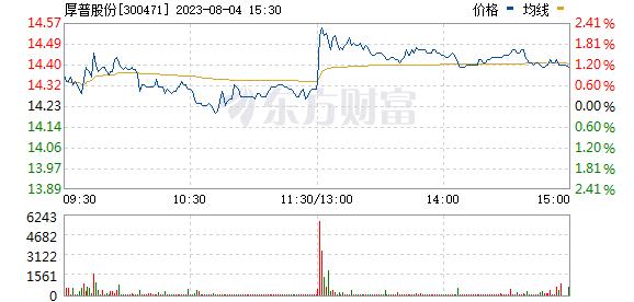 厚普股份(300471)