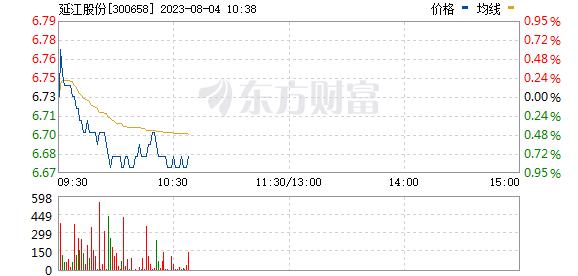 延江股份(300658)
