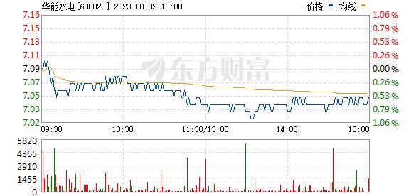 华能水电(600025)