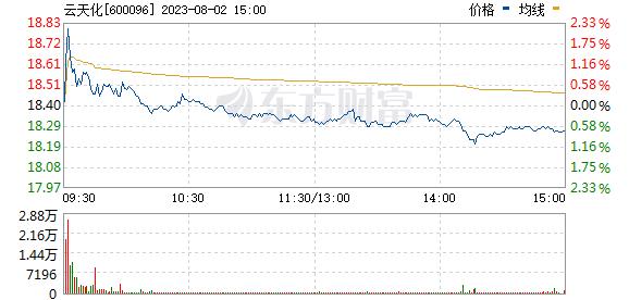 云天化(600096)