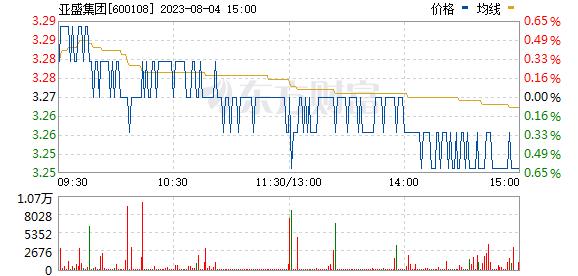 亚盛集团(600108)