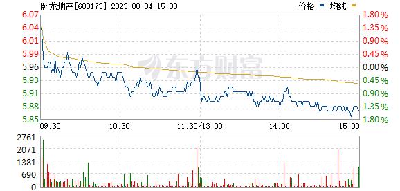 卧龙地产(600173)
