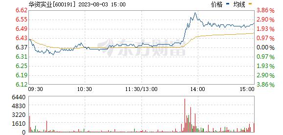 华资实业(600191)