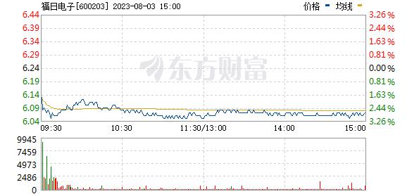 福日电子(600203)