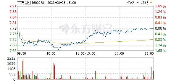 东方创业(600278)