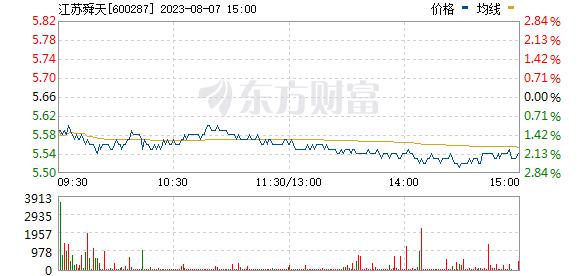 江苏舜天(600287)