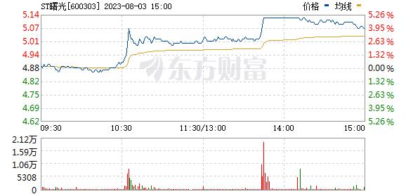 曙光股份(600303)