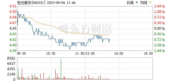 宏达股份(600331)