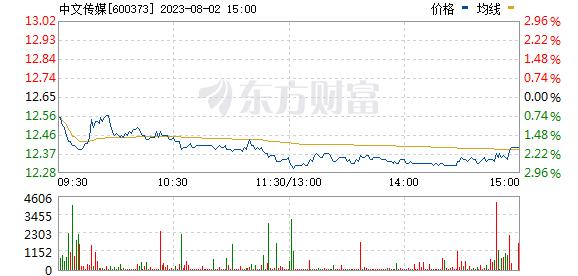 中文传媒(600373)