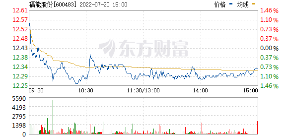 福能股份(600483)