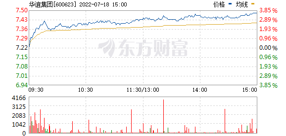 华谊集团(600623)