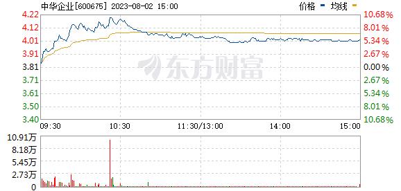 中华企业(600675)