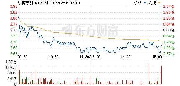 *ST天业(600807)