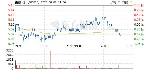 南京化纤(600889)