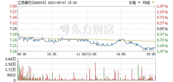 江苏银行(600919)