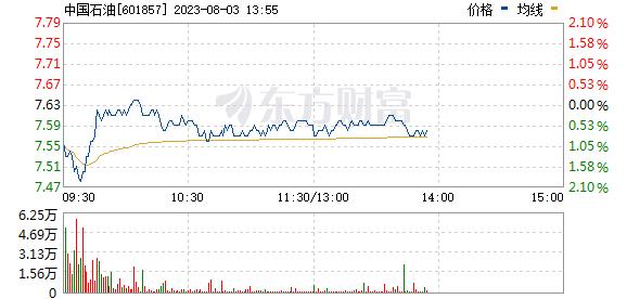 中国石油(601857)