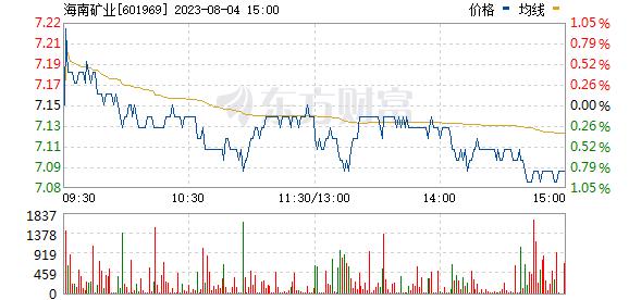 海南矿业(601969)