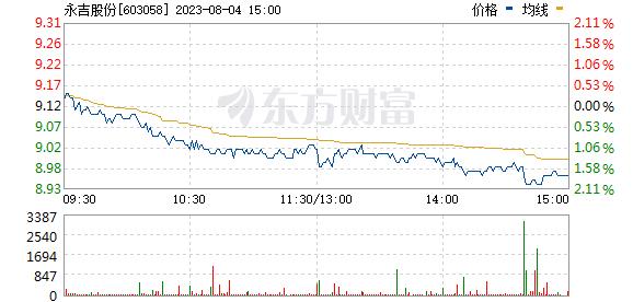永吉股份(603058)