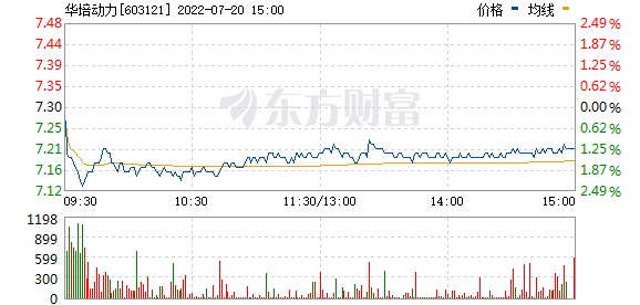 华培动力(603121)