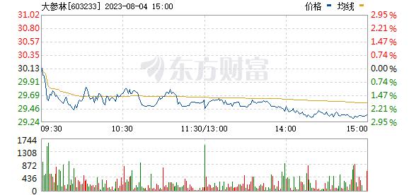 大参林(603233)