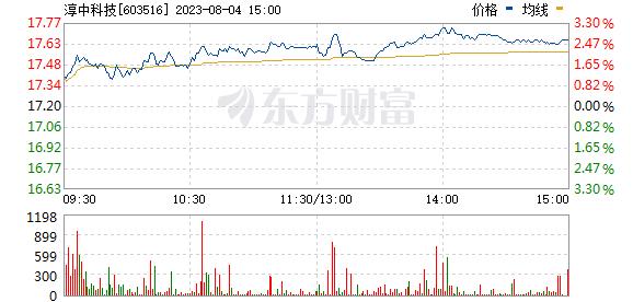 淳中科技(603516)