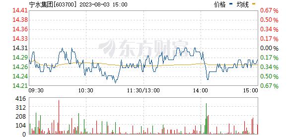 宁波水表(603700)