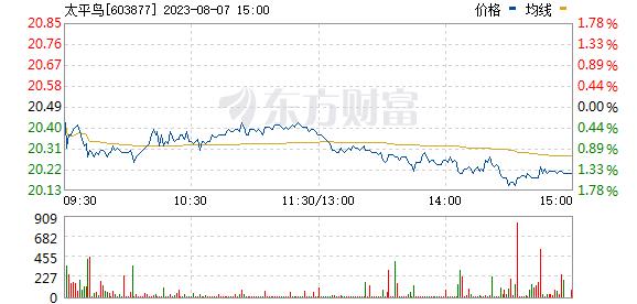 太平鸟(603877)