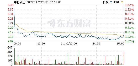 中持股份(603903)