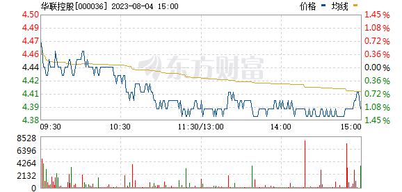华联控股(000036)