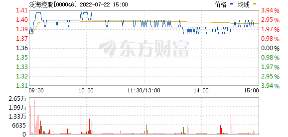 泛海控股(000046)