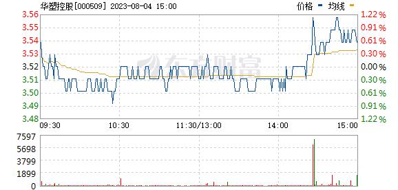 *ST华塑(000509)