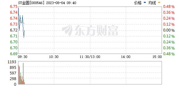 金圆股份(000546)